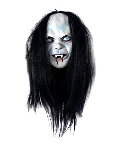 [Ocathnon Full Head Grimace Mask Costume for Masquerade Halloween Dance] (Dancing Dolls Costumes)