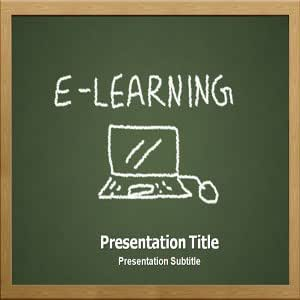 E Learning (Ppt)powerpoint Template | E Learning PPT Templates | Powerpoint Background on E Learning