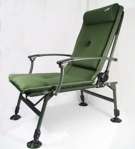Carp-Zone Carp Fishing Reclining Chair with Arm Rests