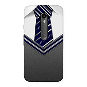 Grey Uniform Back Case Cover for Moto G Turbo