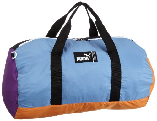 Puma Pack Away M Borsa, Viola (amaranth purple-blue yonder-jaffa orange)
