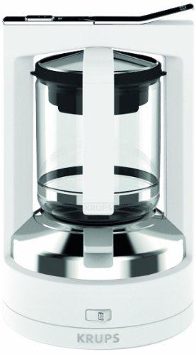 Krups KM4681 Druckbrüh-Automat T8.2, 8-12 Tassen, weiß