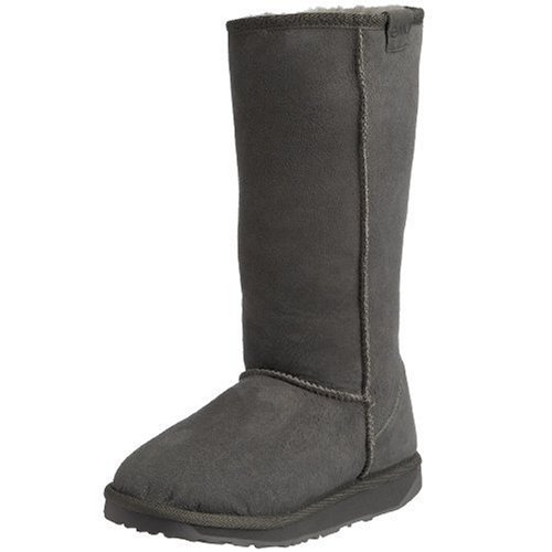 Emu Australia Women's Stinger Hi Charcoal Mid Calf Boots W10001 8 UK