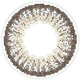 loveil( ラヴェール )【 アッシュグレージュ 】 カラコン 1day 1箱30枚入 14.2mm 【 度あり 】 【PWR】-2.75