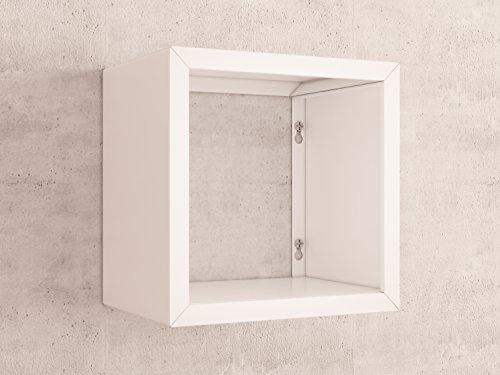 finja ordnerregal regal f r aktenordner wei aus metall. Black Bedroom Furniture Sets. Home Design Ideas