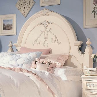 Buy Low Price Lea Kids Jessica McClintock Romance Panel Headboard (203-930, 203-950)