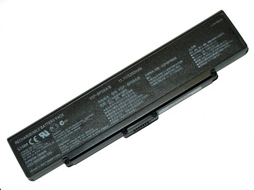 Laptop Battery for Sony Vaio PCG VGN-AR VGN-CR VGN-NR VGN-SZ Series, PN: VGP-BPS9 VGP-BPS9A/B VGP-BPL9 (Unprincipled)