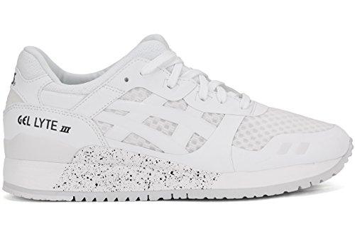 ASICS GEL Lyte III NS Retro Running Shoe, White/White, 7.5 M US
