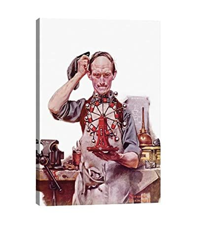Norman Rockwell Perpetual Motion Giclée Print