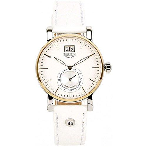 Bruno Söhnle Women's Quartz Watch with Silver Leather Briosa Analogue Quartz 17HEKO-23144Pump