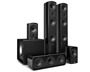 Aperion Audio Verus Forte Tower SD Black