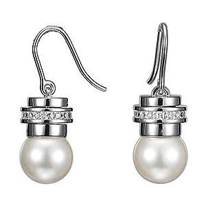 Esprit - ESER91064A008 - Unique Pearl Xl - Boucles d'Oreilles - Femme - Argent 925/1000