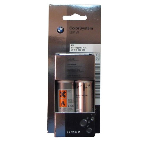 BMW Genuine Sterling Gray Metallic Touch-up Paint Code 472