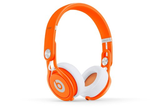Beats by Dr. Dre MIXR | Beats Mixr On-Ear Headphone (Neon Orange 900-00097-01)