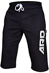 Mens Cotton Fleece Shorts Jogging Casual Home Wear MMA Boxing(S-2XL)