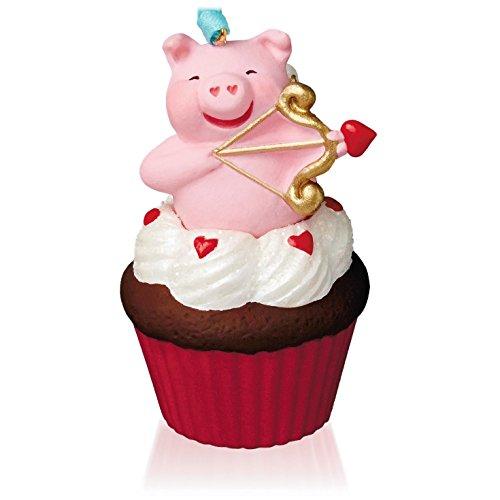 Little Cupiggy Keepsake Cupcake Ornament 2015 Hallmark