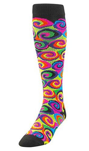 TCK Krazisox Neon Swirls Socks