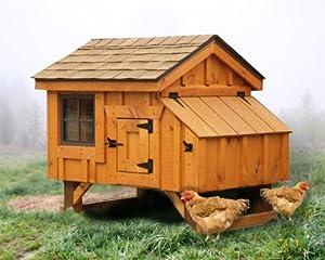 Chicken Coop 3' X 4' Chicken House Holds 3-4 Chickens