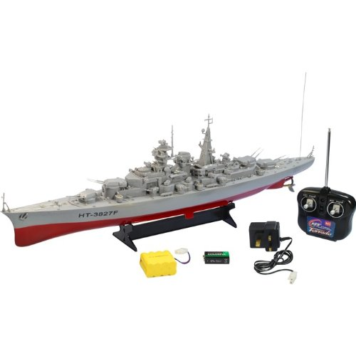 RC Bismark Warship Battle Ship Ready to Run From Box Free UK Post