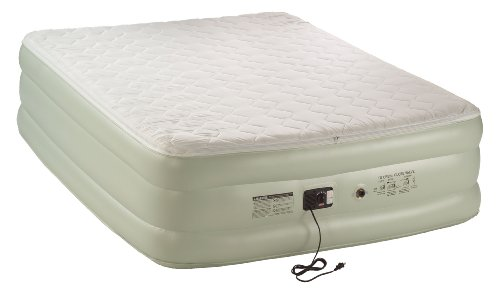 Coleman Premium Double-High Quickbed With Pillow Top And Built-In Pump, Queen
