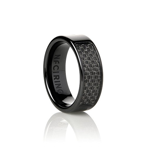 Ceramic Eclipse NFC Ring - The Original Programmable Smart Ring for NFC Enabled Devices (11)