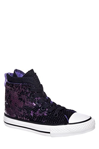 Girls' Chuck Taylor All Star Zip Back High Top Sneaker