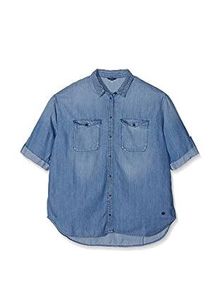 Pepe Jeans London Camisa Vaquera Beth Kids (Azul)