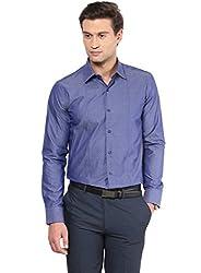 GIVO Blue Polka Dots Casual Shirt