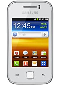 Samsung GT-S5360 Galaxy Y Smartphone HSDPA/3G/EDGE/GPRS Wifi Bluetooth GPS Android  Blanc