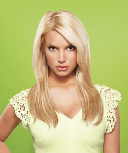 "hairdo from Jessica Simpson and Ken Paves 22"" Vibralite Synthetic Clip-In Extension, Straight, Chocolate Copper"