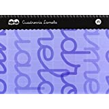 Lamela 7CTE004A - Cuaderno con espiral, 4 mm, color azul