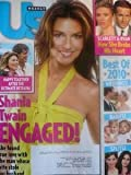 US Magazine Shania Twain Engaged!, Scarlett Johansson & Ryan Reynolds, Best of 2010, David Arquette & Courteney Cox, Bret Michaels, Reese Witherspoon, Jennifer Aniston, Sandra Bullock & Jesse James, Gwyneth Paltrow, Ben Stiller (January 3, 2011 Issue #829)