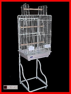 Cheap Tropaz Bird Parrot Cage Stand Budgie Cockatiel Parakeet (830AXTY)