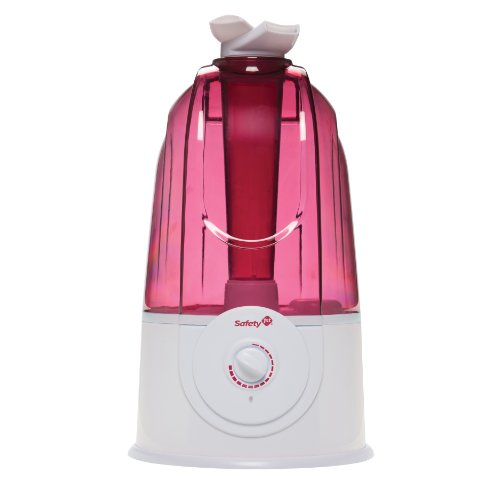 Safety 1st Ultrasonic 360 Degree Humidifier, Raspberry