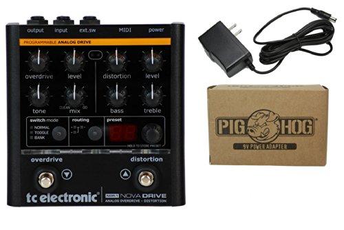 Tc Electronic Nova Drive Bundle - 1 Item: Pig Hog 9V Power Adapter