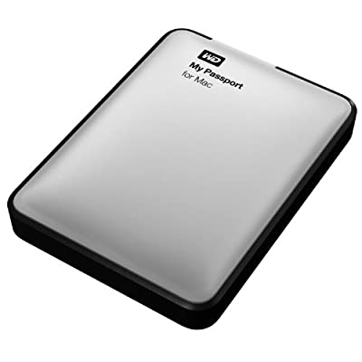 WD My Passport for Mac 2TB Portable External Hard Drive Storage USB 3.0 (WDBZYL0020BSL-NESN)