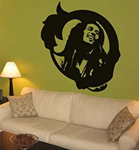 Http Www Amazon Com Marley Reggae Vinyl Decal Decor Dp B008bujf7a