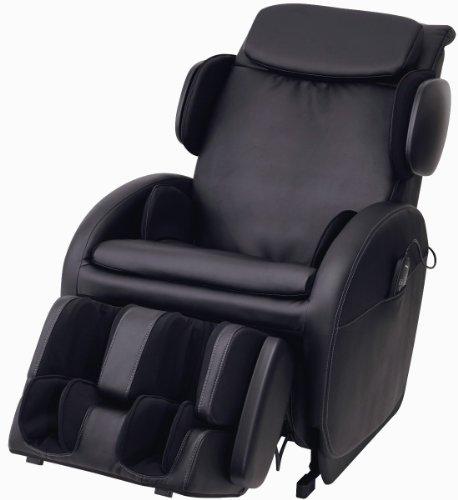 スライヴ マッサージチェア くつろぎ指定席ZERO 「前にスライドするリクライニング」 ブラック CHD-7306(K)