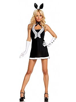 Black Tie Bunny Adult Costume from Elegant Moments