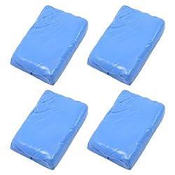 Banggood Vehicle Washing Cleaning Tool Car Clay Bar Detailing Cleaner Blue 4 Pcs