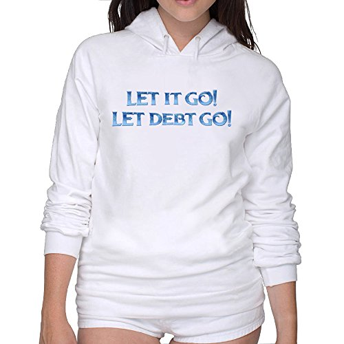 Lightweight 80's Juniors Woman Let It Go Medium Hoodies (Demi Lovato Piano Sheet Music compare prices)