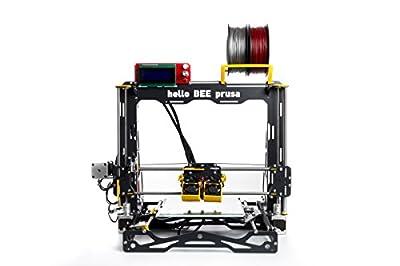 BEEVERYCREATIVE AAA011230 helloBEEprusa (UK) 3D Printer DIY Kit