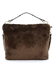 Limited Edition Faux Fur Hobo Bag