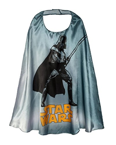 Disney/Lucas Films Star Wars Cape Dress Up Play Kids' Age 3-11 Halloween Costume (Halloween Film Costume Ideas)
