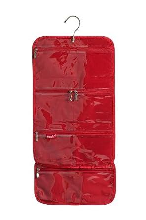 baggallini luggage hanging cosmetic bag black