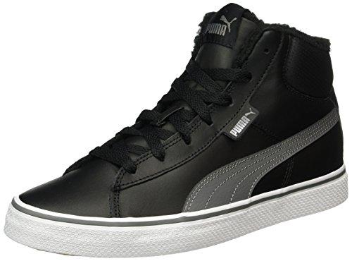 puma-unisex-kinder-1948-mid-vulc-fur-sneakers-schwarz-puma-black-steel-gray-05-375-eu