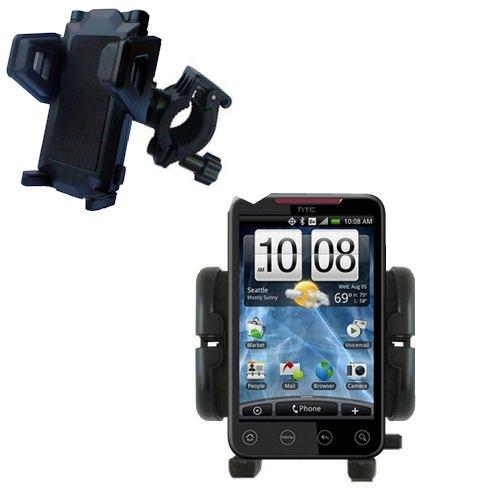 Bike Handlebar Holder Mount System for the HTC EVO 4G - Gomadic Brand