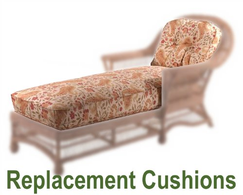 Chaise Lounge Cushion Whitecraft Cottage Wicker Chaise Lounge