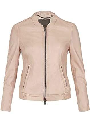 Muubaa - Steenbras Leather Jacket - Nude