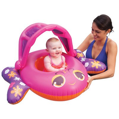 Sun Canopy Baby Boat Color: Pink